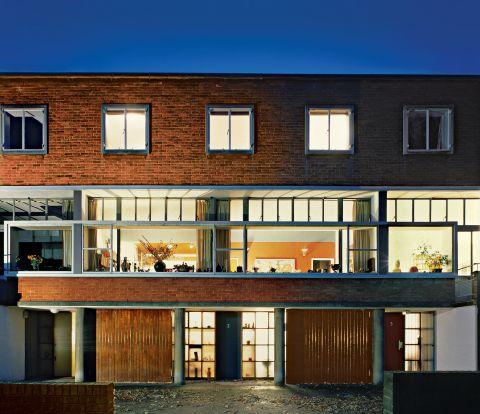 Modernistyczny dom przy Willow Road, zaprojketowany przez Erno Goldfingera.