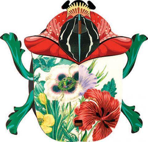dekoracja ścienna motyw botaniczny