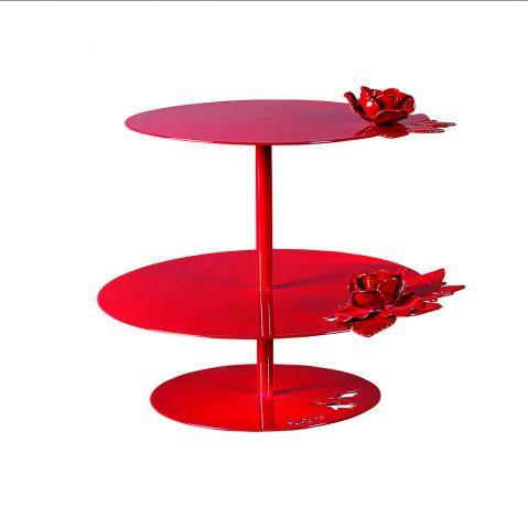 aranżacja stołu etażerka