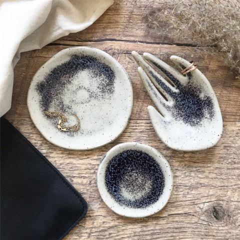stojak na biżuterię ceramiczny