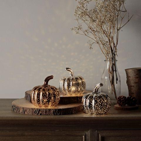 jesienna ozdoba na stół