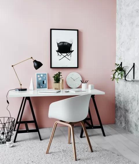 modne krzesło do biurka