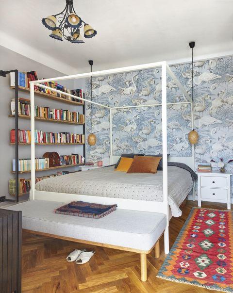 mieszkanie w kamienicy aranżacja sypialni