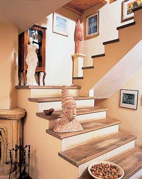 W domu pod Poznaniem sporo jest prac Hanny, ale głównie obrazów i mniejszych rzeźb. – Musimy mieć miejsce na