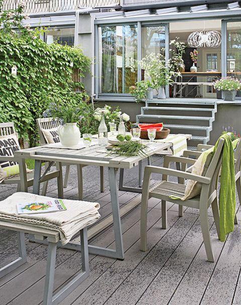 Błękitne szarości dominują w holenderskich domach, ale sprawdzają się również w Polsce.