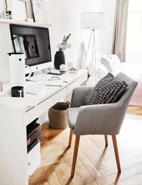wygodny fotel do biurka