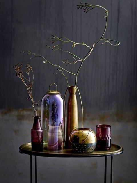 Jesienne dekoracje: wazony, lampiony i świeczniki