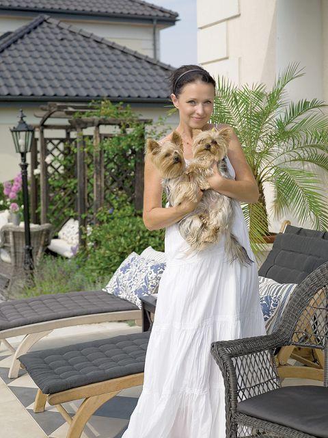 Katarzyna Pander-Liszka urządziła dom po angielsku, ale z poczuciem humoru.
