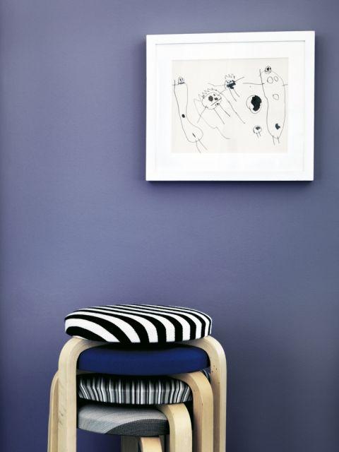 jak dopasować kolory ścian do czarno białych grafik