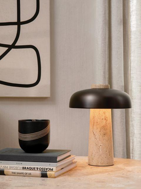 nowoczesna lampa stołowa Reverse