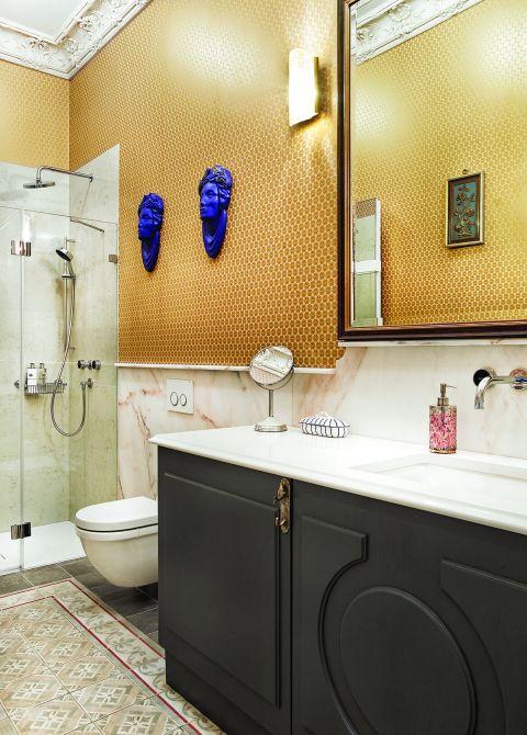 stylowy apartament łazienka
