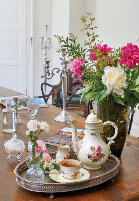 styl pałacowy zastawa stołowa