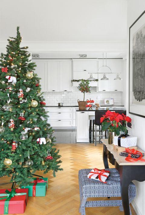 bożonarodzeniowy wystrój domu