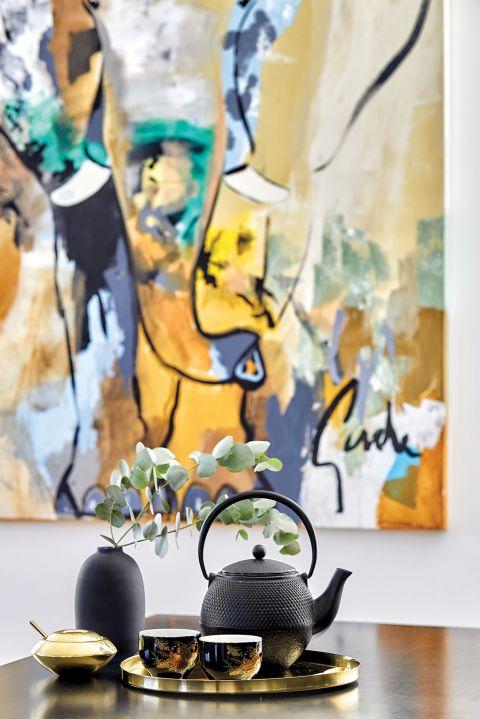 stylowe wnętrze minimalizm obraz