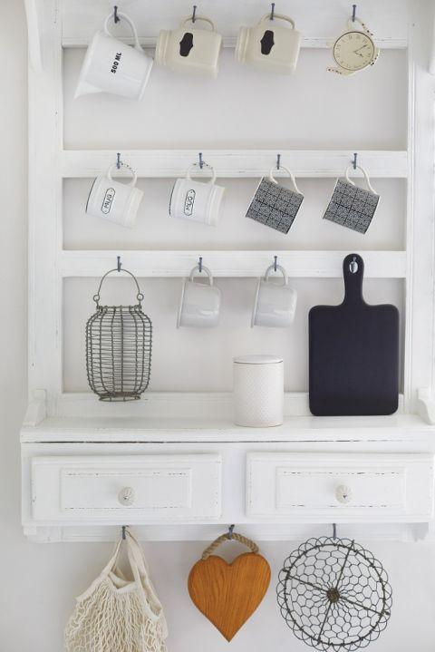 biała kuchnia dekoracje