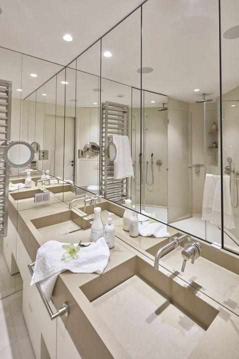 styl eklektyczny w łazience