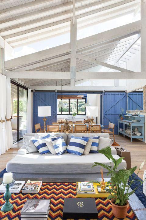 dom w Brazylii pokój błękit