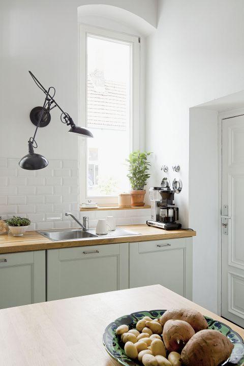 stylowe wnętrze biała kuchnia