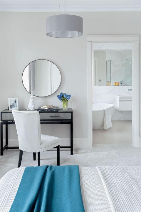 stylowe wnętrze pokój lustro