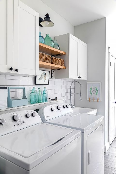 pralnia w domu aranżacje