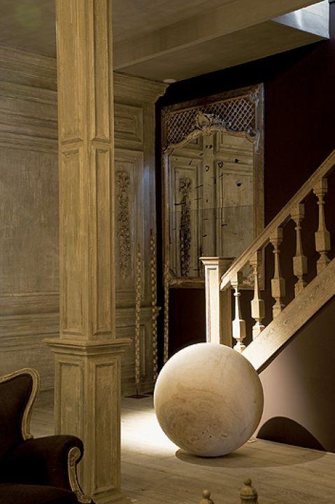 Dom jest również showroomem. Młyn jak pałac: rustykalna perełka