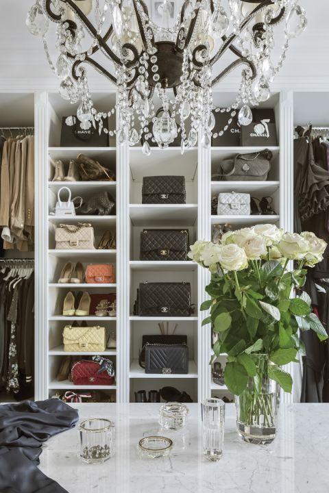 garderoba w stylu nowojorskim