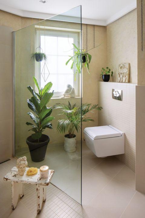 jak połączyć stare z nowym w łazience