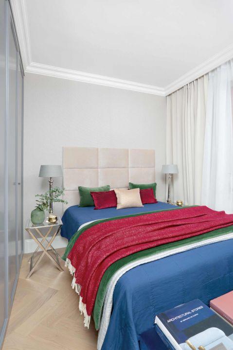 nowoczesna sypialnia aranżacja