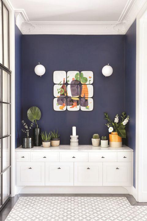 nowoczesne wnętrze korytarz ściany ozdoby