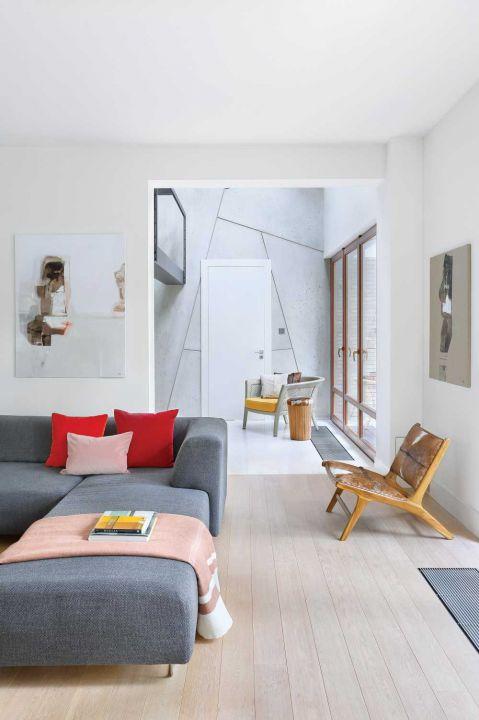 nowoczesny dom wnętrze