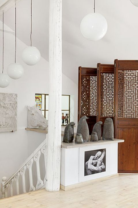 Sztuka potrzebuje miejsca i w tym domu je znajduje.