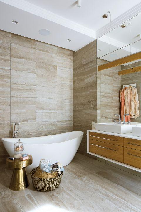 wnętrze w nowoczesnym stylu łazienka