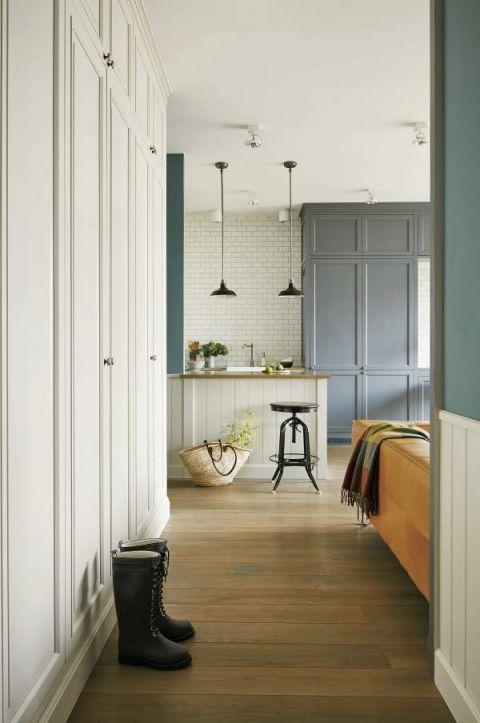szafy do zabudowy w stylu vintage