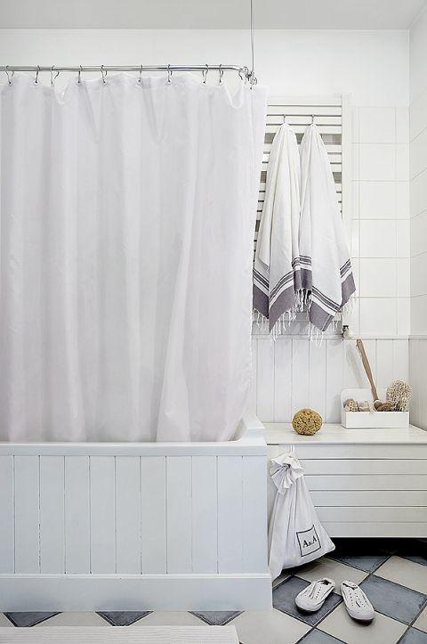 skandynawski wystrój łazienki