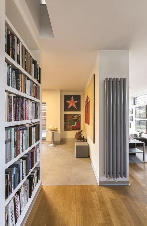 modernistyczny dom kolekcjonera książek