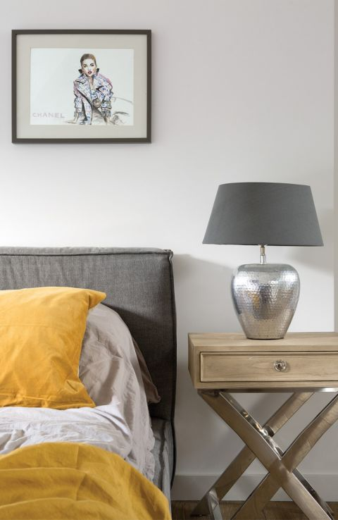styl loftowy sypialnia
