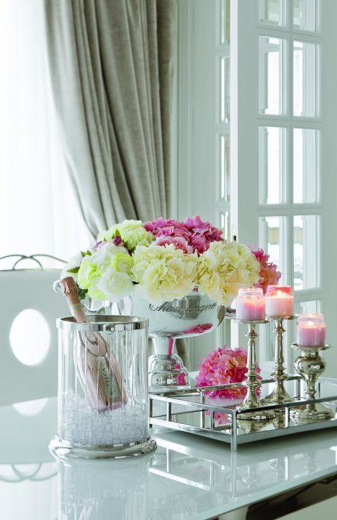Słodki luksus – mieszkanie w stylu glamour