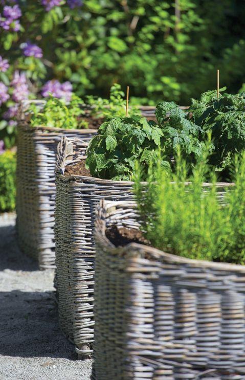 warzywnik w ogrodzie aranżacje