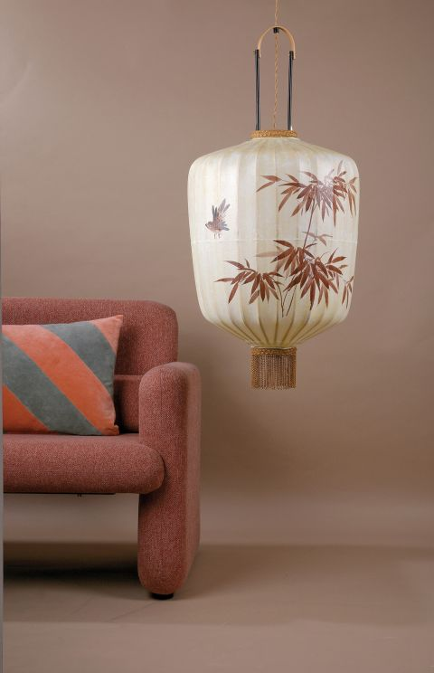 tradycyjna lampa wisząca lampion
