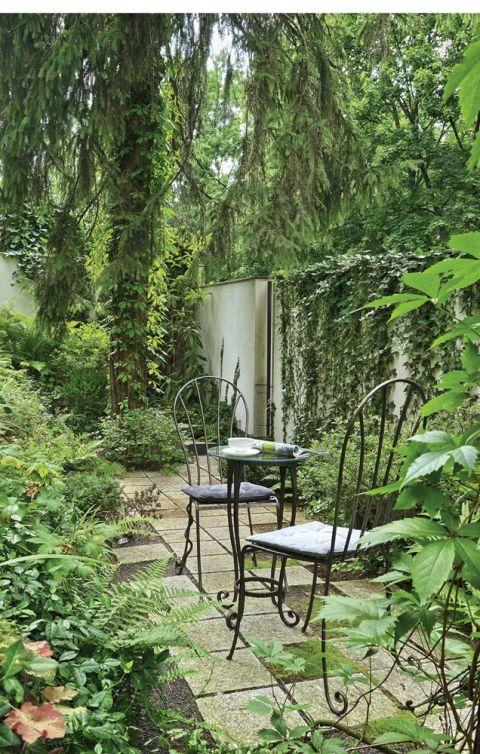 Ogród przy parku Morskie Oko