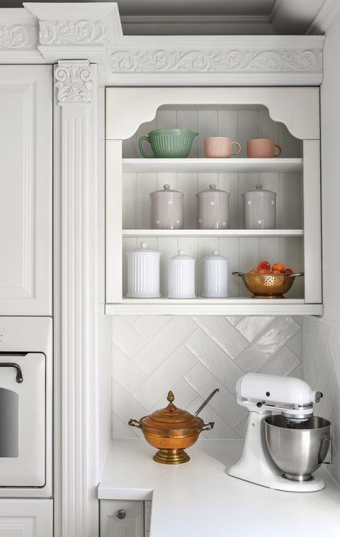 białe szafki kuchenne aranżacje