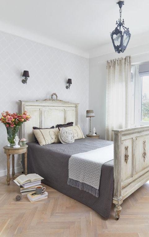 biała sypialnia aranżacje