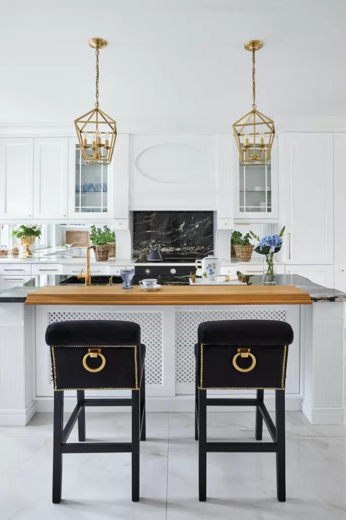 biała kuchnia modern classic