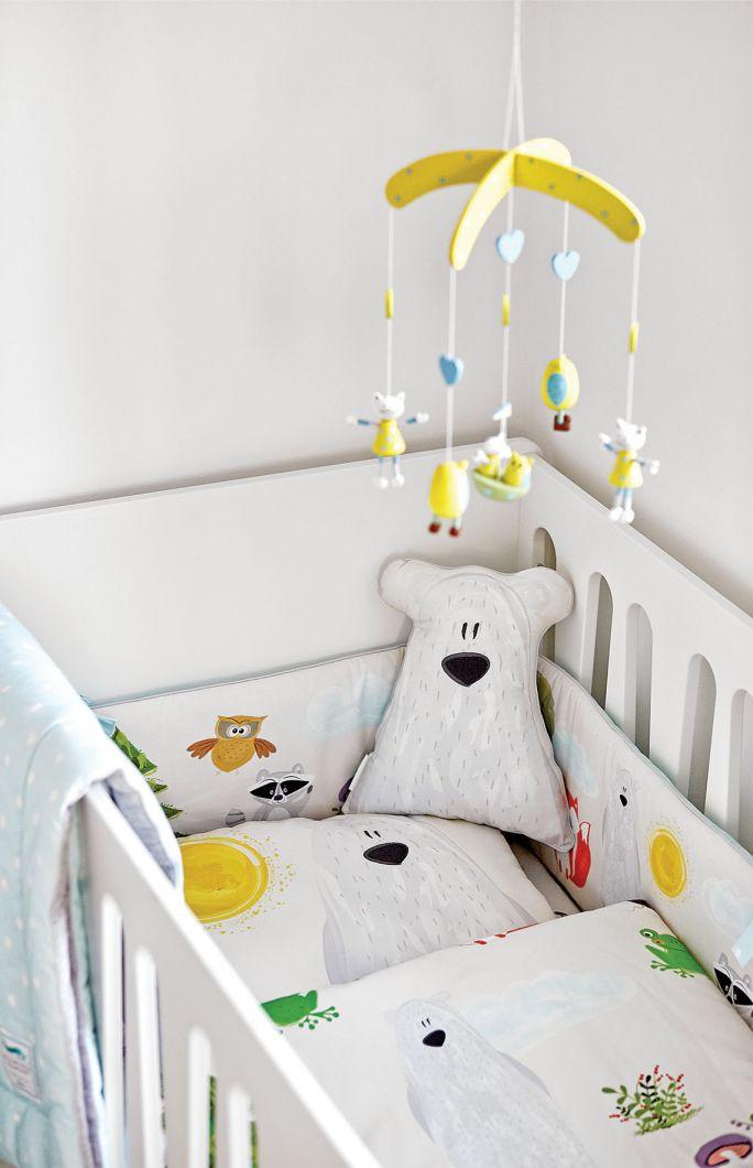 wystrój pokoju dla niemowlaka