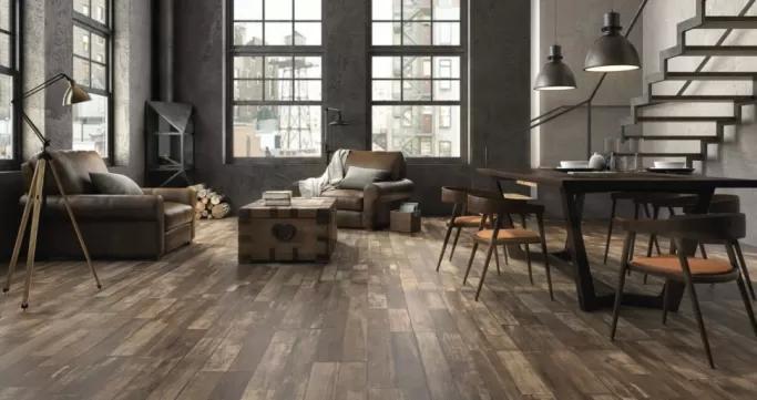 płytki drewnopodobne na podłogę