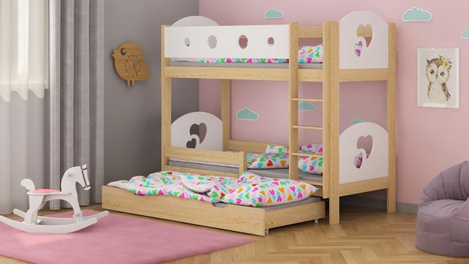łóżka dla dzieci WNM Group