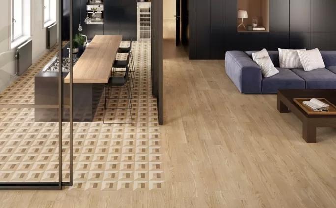kafle podłogowe drewnopodobne