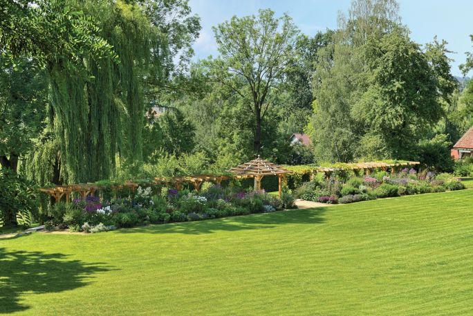 pergolaw ogrodzie
