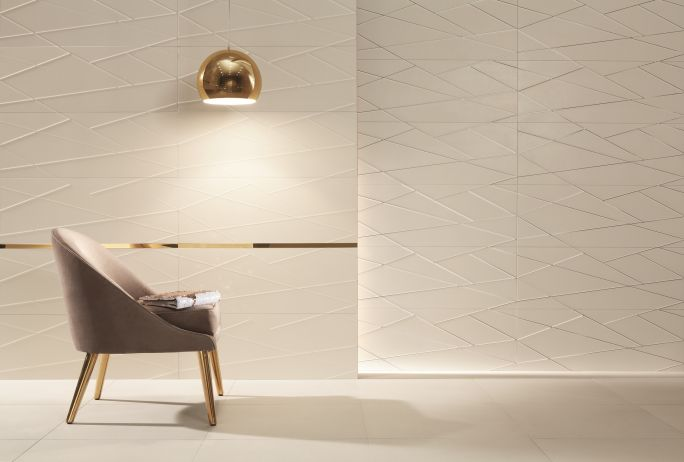 geometryczne płytki do łazienki