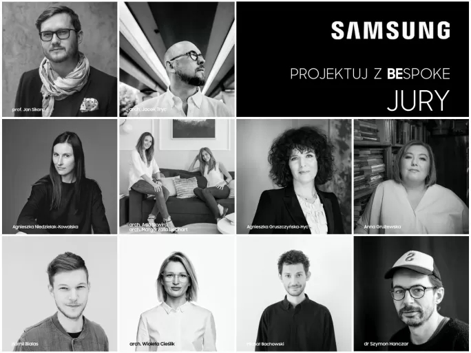 jury konkursu Samsung Projektuj z Bespoke